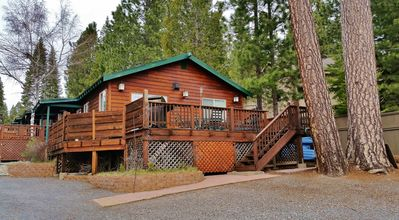 Photo for Premiere Family-Friendly Lakeside Cabin, Beautiful Views, Free Dock & Boat Slip