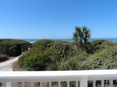 Gulf View and Beach Walk-over from Lower Deck.