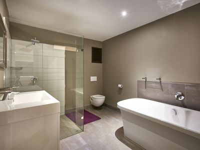 Photo for 2 Bedroom Executive En-suite Apartment with 1 king and 2 twin bed in Sandton