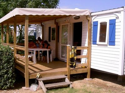 Photo for Camping Oleron Loisirs **** - Mobile Home 3 Rooms 5/6 People