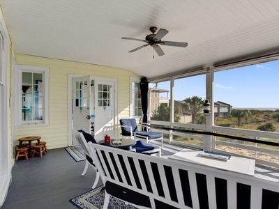 Photo for Ocean View   Beach Access   Tybee Historic Cottage   Walk to Resturants   Charm