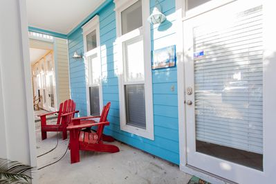 Front patio - Front patio