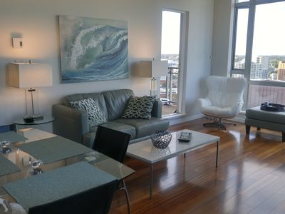 Photo for PRISTINE DOWNTOWN PENTHOUSE WITH PANORAMIC OCEAN, CITY & MOUNTAIN VIEWS