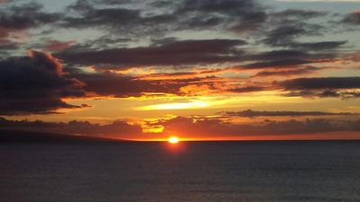 Exquisite sunsets from the lanai