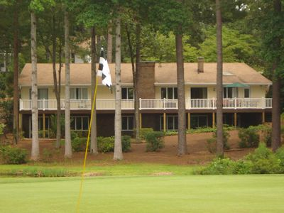 Photo for Enjoy Stunning Water/Golf views of Pinehurst at golf-front 'A Slice of Seven!'