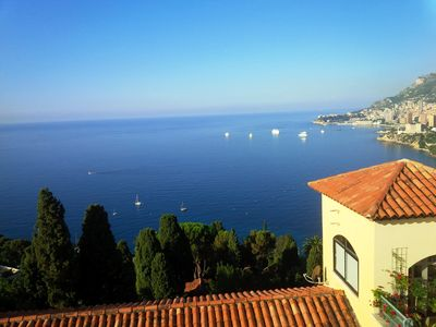 Photo for BEAUTIFUL APARTMENT WITH POOL AND VIEWS ON MONACO