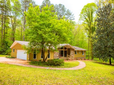Photo for Outstanding 4 Bdrm 3 BA Home In Fayetteville - Privacy Galore On 6.2 Lush Acres