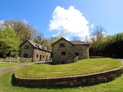 Photo for The Old Barn - Sleeps 4 Adults, 2 Children (+ 1 Infant.) Surrounded by over 450 acres of Organic far