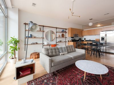 Photo for Mid-Century 2BR in Lincoln Park by Sonder
