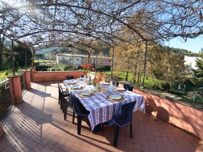 Photo for Country House / Farm House in Lucca with 2 bedrooms sleeps 6