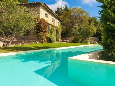 Photo for Private pool and garden - Ideal destination for relaxation and calmness
