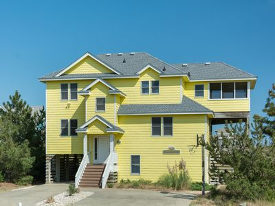 Photo for Seaduction: Oceanside, 6 bedrooms, private pool and hot tub, 3 lots from the ocean!