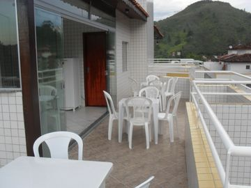 DUPLEX APARTMENT - 100 METRES FROM THE BEACH - WITH BARBECUE IN COVERAGE