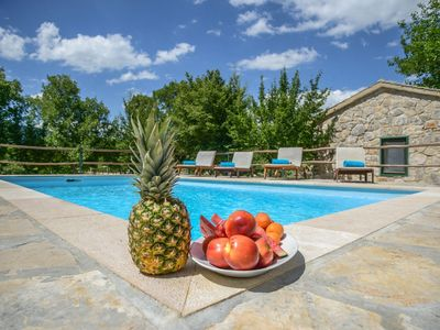 Photo for Traditional stone Villa with a private pool and complete privacy