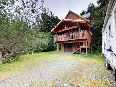 Photo for NEW LISTING! Dog-friendly chalet w/ jetted tub and quiet location