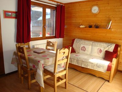 Photo for Pralognan - les Hameaux de la Vanoise - 3 rooms / Mezz. -  6 pers.