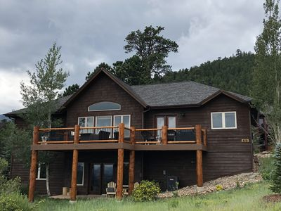 Photo for Estes Park Vacation Home At Mary's Lake Where Rustic Meets Luxury