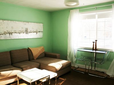 Photo for Sunny Studio.  All-private space.  Amazing Location - 2 Blocks From Pearl St!