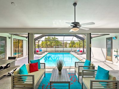 Photo for NEW! Modern Cape Coral Home w/ Pool & Gulf Access!