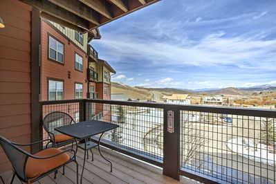 Live the mountain life during your stay at this Granby vacation rental condo!
