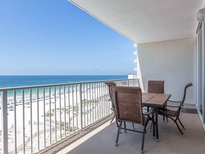 Photo for HAVE A BALL with Kaiser in Lighthouse #611: 2 BR/2 BA Condo in Gulf Shores Sleeps 7