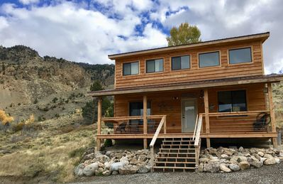 Photo for Overlooking YNP. 5 mins to hot springs & park. Pet friendly. Stay like a local.