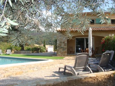 Photo for Fully equipped house, with private pool, just outside Calvi
