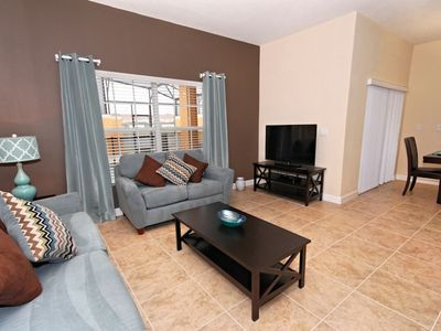 Photo for Enjoy Orlando With Us - Paradise Palms Resort - Amazing Relaxing 4 Beds 3 Baths Townhome - 4 Miles To Disney