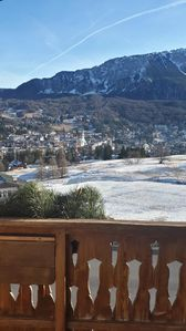 Photo for SUITE GILARDON Splendid Penthouse 300m from the slopes Tofana-Socrepes area, parking space