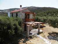 Beautiful stone house in olive grow