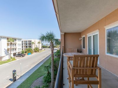 Photo for Ocean View Condo only 50 Yards to the Sand with Community Pool, Close to Tybee Pier and Hot Spots