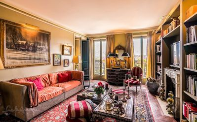 Photo for Luxury 18th Century 2BR, Direct View Champs Elysees, Eiffel Tower