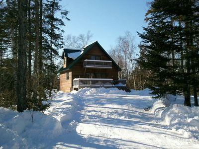 Photo for 4BR Chalet Vacation Rental in Carrabassett Valley, Maine
