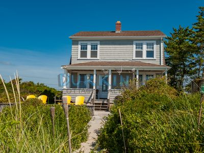 Photo for Beautiful Beachfront Colonial, Amazing Views, Stretch of Private Beach, Central A/C