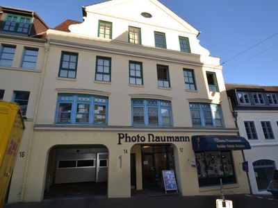 "Photo for Good Morning. Centrally located on Südermarkt located to explore from the elegant apartment ""Aunt measure"" for four people on two levels Flensburg and the surrounding area."