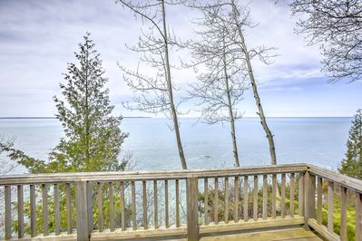 Beautiful lakefront views await you at this Charlevoix home!