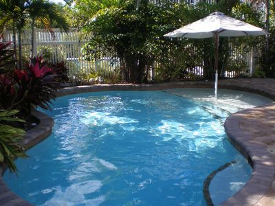 Photo for AUGUST, SEPT and OCT dates available!  Private Heated Pool - Close to the Beach!