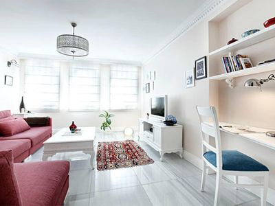 Photo for Lots of light, peaceful & high ceilings