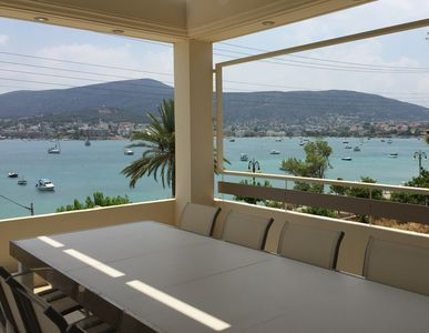 Photo for Villa with private pool by the Sea, with air/on, amazing view, large terraces