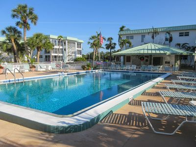 Photo for Beautiful Beachfront Condo At Special Budget Rates! Privateer Resort Condo On The Gulf w/ Pool!