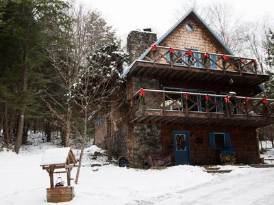 Photo for 4BR Chalet Vacation Rental in Morristown, Vermont