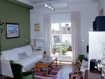 Photo for Penthouse with large terrace and excellent views, close to Atocha, CENTRO area