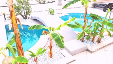 Photo for The small castle of the Moors, swimming pool with internal whirlpool