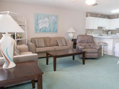 Photo for Wendwood H3 One Bedroom Condo Just Steps from the Beach!
