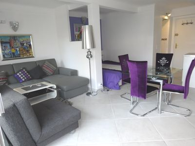 Furnished to high standards spacious lounge
