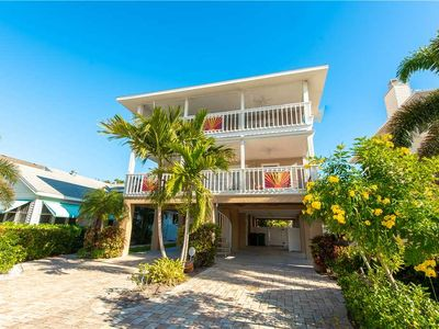 Photo for Reduced Rates 25% OFF! 30 Second Walk to the Gulf Beaches! Heated Pool