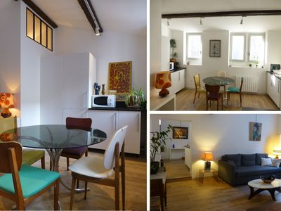Photo for AVIGNON CENTER 2/3 bedroom apartment - 2sdb - 3Bed / 2Bath SPACIOUS QUIET