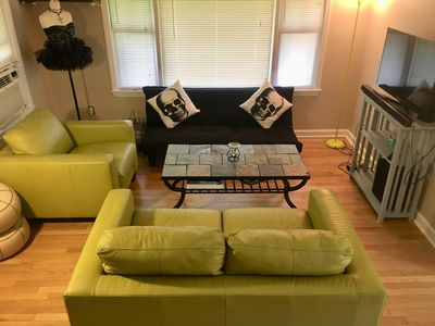 Photo for Clean, cozy, funky Ferndale getaway, great location