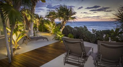 Enjoy your own private Beach and gorgeous sunsets