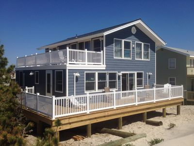 Photo for Oceanfront single family Home in the Dunes... Watch the waves crash!